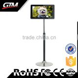 27 inch digital signage floor stand ad display board digital frame video led advertising display board lcd monitor display
