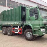 Buying goods from dubai SINOTRUK chinese price howo sanitation truck/garbage truck for sale