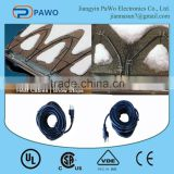 High quality roof and gutter de-icing cable/snow melting products /de-icing solutions factorty