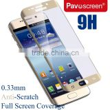 Pavoscreen for Samsung Galaxy S6 S7 Edge Glass Screen Protector 0.33mm Thinner Tempered Glass Screen Protector