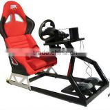 AK new design video game driving car racing seat simulator