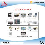 lcd touch screen glass separator machine pack E for Samsung mobile screen repair specially