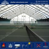 Factory price PVC fabric coated tennis court tent used for sports hall aircraft hangar