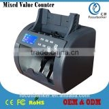 ( best price ! ) Currency Counter/Money Detector/Bill Sorter/Banknote Counting Machine with CIS for Brazilian Real(BRL)