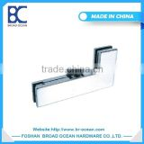 china supplier cheap stainless steel handrails and glass fittings glass door patch fitting DL-013