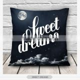 high quality fashion emoji sassy design 3d digital print pillowcases fullprint decorative throw pillow covers seat cushion Cover