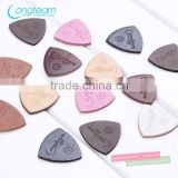 Soft Sheep skin pick for ukuleles,quality guitar accessories leather