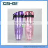 New Design 750 Ml Fda Silicone Sports Fruit Infuser Water Bottle