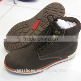 Reasonable price men's leather boot made in China