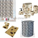 China Wholesaler Promotion Houseware Pebble stone bathroom accessories set