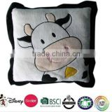 plush cow shape pillow cushion/animal shaped cushion/animal shape floor cushions