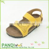 2015 New model comfort summer beach boy sandals