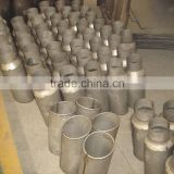 auman polished tips china truck exhaust middle pipe polished tips Truck Part , chassis parts truck Exhaust middle Pipe
