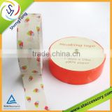 2014 hot selling design custom washi paper masking tape