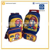 2016 sannovo Hong Kong fair fashion Super Mario school bag set                                                                                                         Supplier's Choice