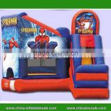 China inflatable christmas bouncer ,inflatable spiderman bouncer castle