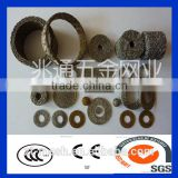 China Alibaba 304 316knitted EMI shielding gasket/wire net for exhaust system wire net ring for exhaust system
