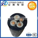 450/750V rubber sheath flexible eletrical power cable 4*2.5mm2