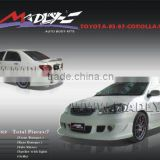 Fiberglass body kits for 03-07-COROLLA