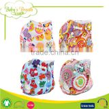 PSF-05 free sample cartoon print manufacture reusable washable cloth baby diapers                                                                                                         Supplier's Choice