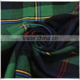 100%cotton 21s combed yarn stock fabric, yarn dyed fabric
