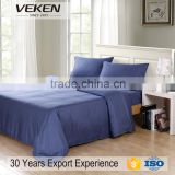 Wel-mat factory audit passed 300TC bed sheet all bamboo bedding