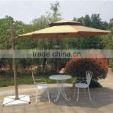 Popular Outdoor Deluxe Rome Hanging Parasol/Garden Cantilever Umbrella