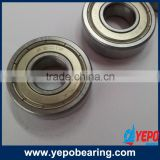 Deep groove ball bearings/ball bearing for ceiling fan /ball and roller bearing 6201 ZZ/2RS/OPEN