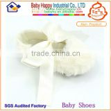 Wholesale cheap colorful plush baby shoes in bulk