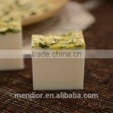 Natural White chrysanthemum essential oil & goat milk handmade soap face cleaning soap dry flower antiallergic OEM custom brand