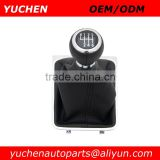 YUCHEN Car Shift Gear Knob With Chrome Frame For VW Passat B6 CC 3C R36 TDI 2005 2006 2007 2008 2009 2010 2011 Car Styling