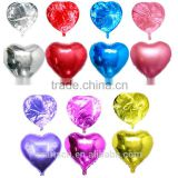 wedding decorative heart shape love foil balloon                                                                                                         Supplier's Choice