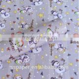 hot sell christmas design paper new designs 60g gift wrapping paper sheet custom packaging