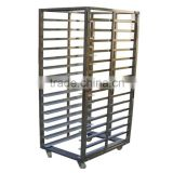 15 Trays Stainless Steel Foldable Kitchen Trolley In Baking Equipment                                                                                                         Supplier's Choice