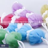 Wholesale natural sea bath belt shower sponge for lady and adult
