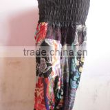 Ladies Trouser Aladdin harem pants Boho Hippie Pant Printed Patch work Fashionable Trouser