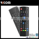 Mini Keyboard With Air Mouse For Android TV Box,Remote Conrtol Keyboard and Mouse--MX3--Shenzhen Ricom