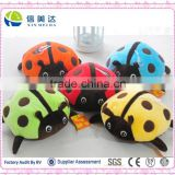 20cm Cute Wedding Gifts Plush Ladybug Colorful Insects Soft Toy Plush Animals Baby toy