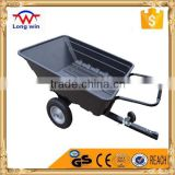 atv tow behind dump trailer