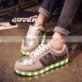 LED Light Luminous Sneaker Fluorescence USB star /war Unisex Athletic Shoes                                                                         Quality Choice                                                     Most Popular