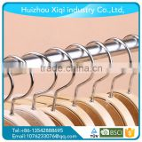 wooden cloth hanger/Jacket Hangers,wood hanger machine,wonder hanger Nickel-Plated Hook, Natural Finish
