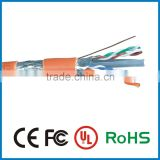 TOP alibaba fatory ethernet cables 4pr 24awg 4p stranded copper cat6 lan cable