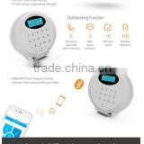 850/900/1800/1900MHZ LCD Disply 100 wireless zones WIFI/GPRS/GSM Wireless Bluetooth Alarm home security (GS-M3GB)