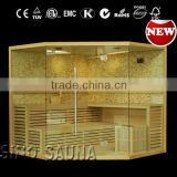 Luxury design mosaic infrared sauna shower combination sauna with stone