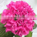 High quality Single stem real touch hydrangea artificial hydrangea for sale