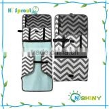 New Arrival Nylon waterproof portable Foldable Changing Mat for baby travel
