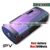 iPV400 with the big wattage and small size provide you more choices IPV5 200W box mod yihi sx350 chip sx mini