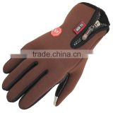 Leisure sports warm gloves/Palm point plastic non-slip/Touch screen gloves winter skiing