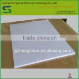 Factory direct sale white color silicon coated glassine paper