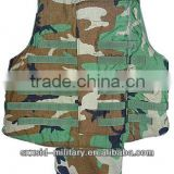 NIJ 0101.06 NIJ III+ Ak7 Military body armor AK47 Kevlar Military fulll body armor AK 47 bullet proof body armor